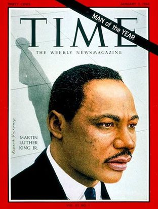 Martin Luther King - Time du 3 janvier 1964