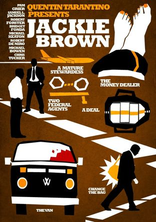 Jackie Brown by Hexagonall