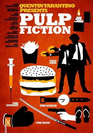 Pulp fiction by Hexagonall
