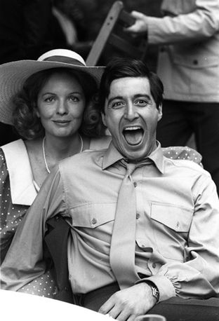 Le Parrain - Diane Keaton & Al Pacino