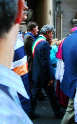 572f4 Palermo, processione di santa Rosalia