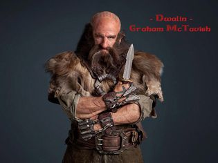 Bilbo le hobbit ( Dwalin - Graham McTavish ) copy