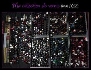 Ma collection de vernis -mai2012-