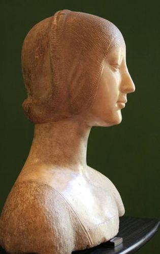 565e2 Palerme, palais Abatellis, Eléonore d'Aragon