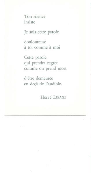 hervé Lesage