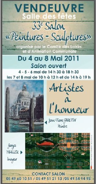Affiche salon Vendeuvre 2