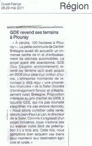 110604 vente terre Plouray