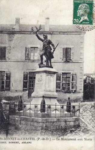CPA Monument aux morts