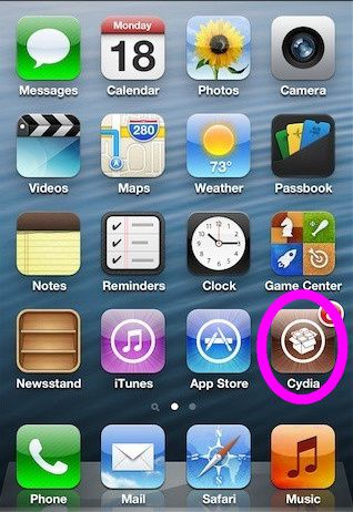 jailbroken iphone