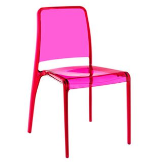 D co color block le rose scarlettetclafoutis for Chaise rose fly