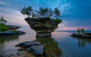 MICHIGAN Turnip rock