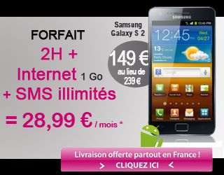 baisse du prix du galaxy s2 chez afonemobile le blog bon plan mobile. Black Bedroom Furniture Sets. Home Design Ideas