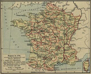 france departments 1791