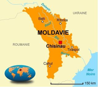Moldavie-carte