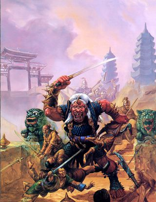Jeff Easley The Eastern Realms