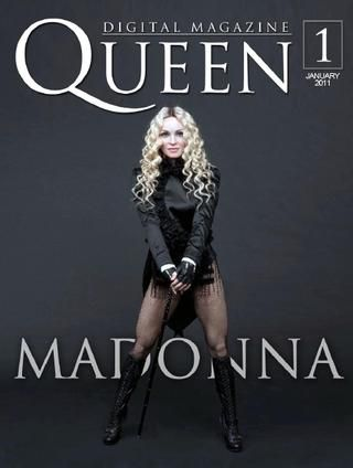 Digital Magazine: ''Queen Magazine'' - Madonna News, January 2011
