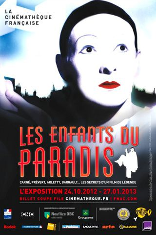EXPOSITION LES ENFANTS DU PARADIS A LA CINEMATHEQUE