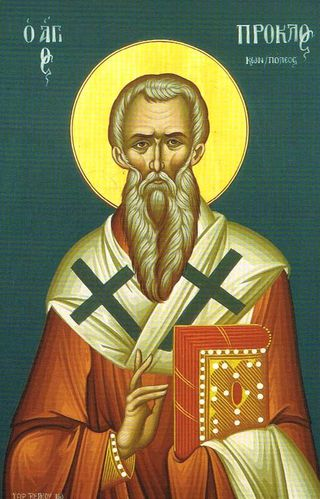 20 nov ploclus patriarch of constantinople