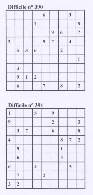 sudoku semaine145
