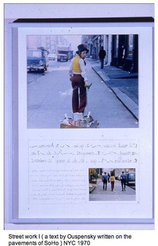 Colette 1970 Street work 1