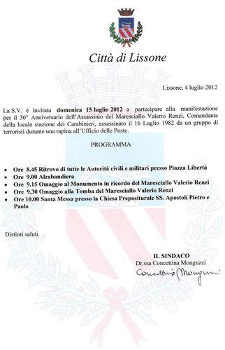 Invito 15 luglio cerimonia Renzi