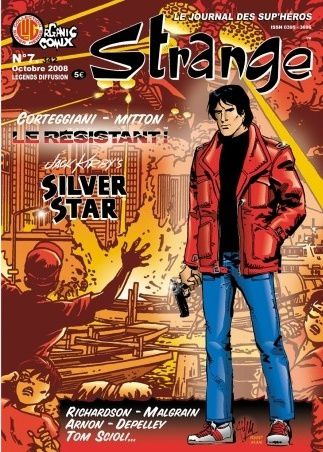 Tags : Strange N°7, Organic Comix, Jack Kirby, Silver Star, Reed Man, Fantask Force, Venturesome Motes, Chris Malgrain, Robert Burke Richardson, Jean Depelley, Megasaura, Le Résistant, Jean-Yves Mitton, François Corteggiani, Patrice Lesparre, Comics BD, bande dessinée, Rym & Cie, The myth of 8-Opus, Tom Scioli, Jean-Marie Arnon