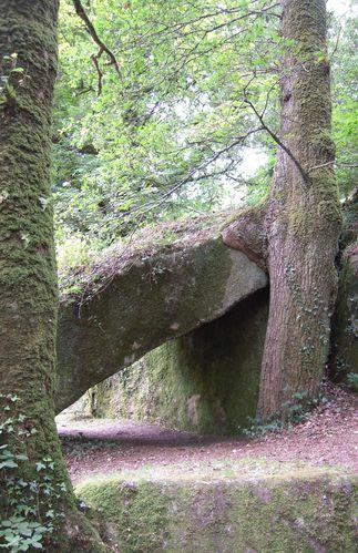 etreinte.bois et pierre
