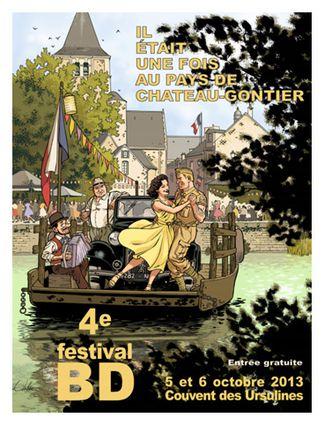 festival bande dessinee chateau gontier