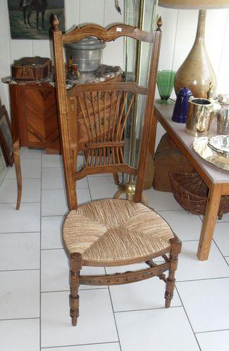 Une Chaise De Nourrice En Paille