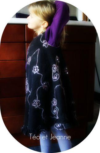 Robe chasuble velours 1