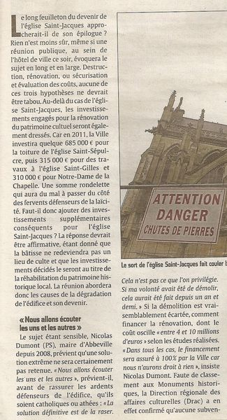 article Courrier Picard 15.2.2011( 2)