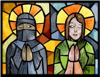 un Musulman et un Chrétien