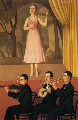 Antonio Donghi Canzone 1934