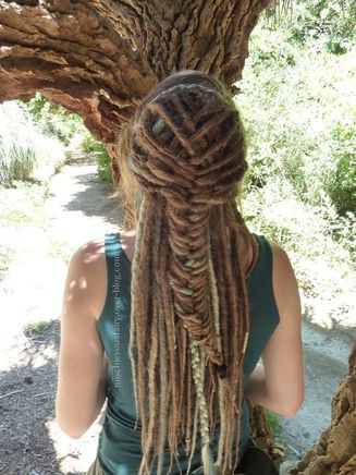 dreads-synthetiques-blond-turquoise-platine-sirene-II5