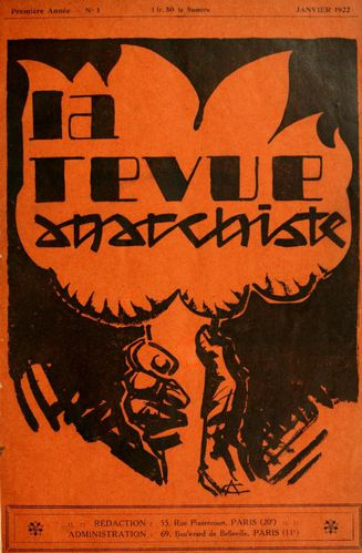 la revue anarchiste cover