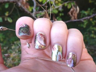 nail-art-feuilles-automne-stamping1