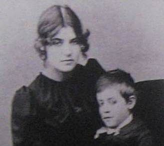 Suzanne Valadon and her son