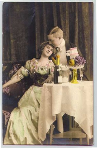 champagne for two vintage