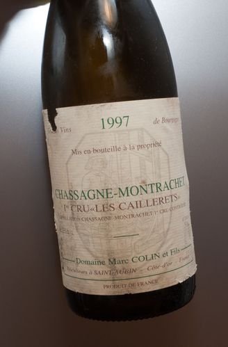 chassagne caillerets 1997 marc colin