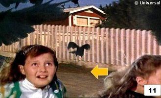 Erreur film Hitchcock Les oiseaux