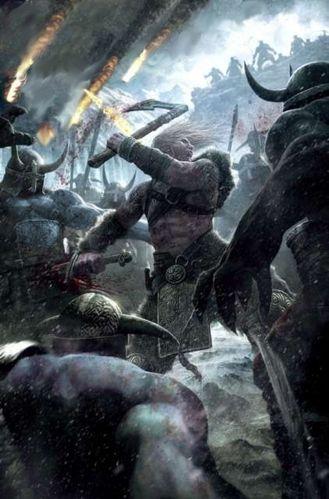 combat contre les guerriers de Hel