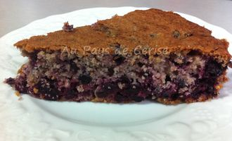 gteau au cassis et amandes