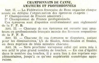 Canne de combat 1903 compétition