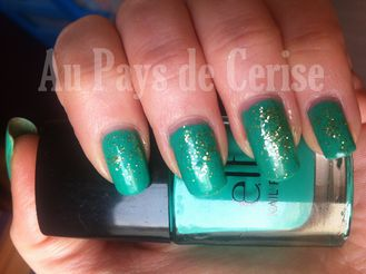 teal green elf swatch