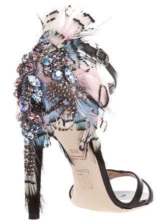ballin-sandale-avec-talon-haut plumes