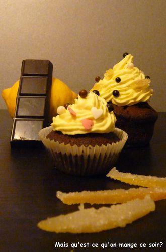 cupcake chocolat coeur lemon curd ganache aux éco-copie-2