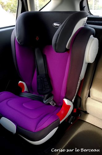 test le si ge kidfix xp sict de britax r mer cerise sur le berceau. Black Bedroom Furniture Sets. Home Design Ideas