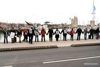La Rochelle Palestine Solidarite Sam 24 Nov