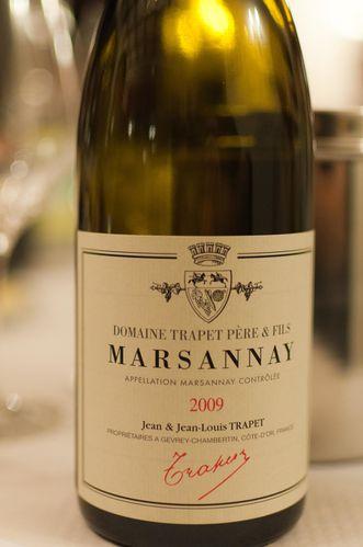 marsannay 2009 trapet