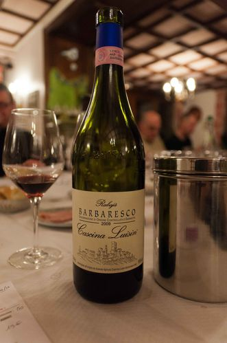 Barbaresco Rabaja 2009 Cascina Luisin